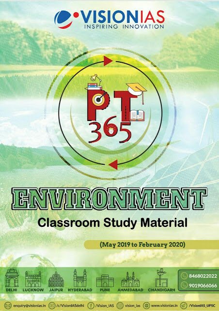 Environment by Vision IAS PT 365 : For UPSC Exam PDF Book