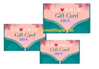 """Concorso """"Lovable Baby Challenge """" : vinci gratis Gift Card da 200 euro ( 5 premi )"""