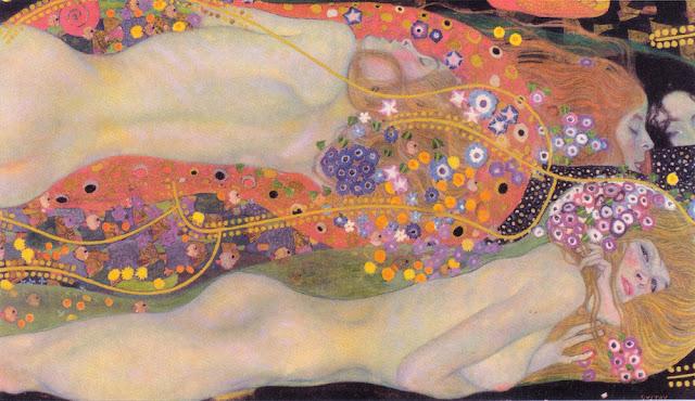 水蛇Ⅱ 1904年 クリムト、官能と黄金の画家とは?クリムトの見ておきたい絵画14選【a】