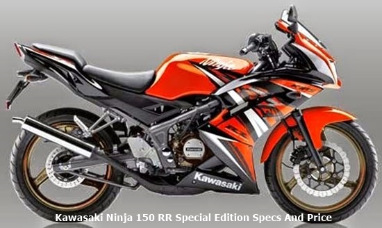 Kawasaki Ninja 150 RR Special Edition Specs And Price