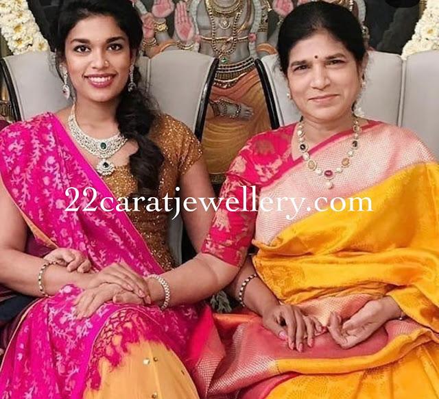 Sreeja and Surekha Konidela Jewellery