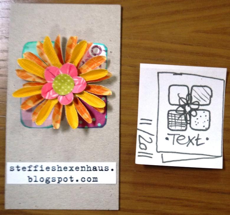Steffies Hexenhaus Noch Mal Blog Visitenkarten
