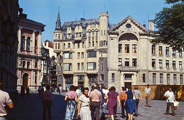 1988 год. Рига. Домская площадь