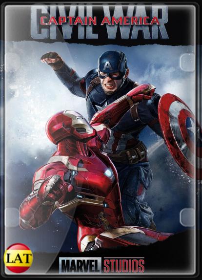 Capitán América: Civil War (2016) DVDRIP LATINO