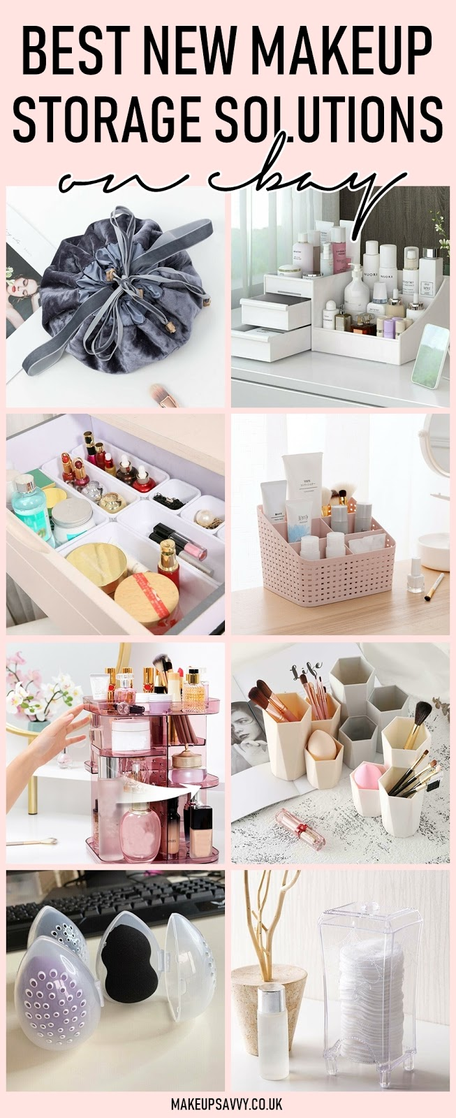 Best New eBay Makeup Storage Solutions 2020