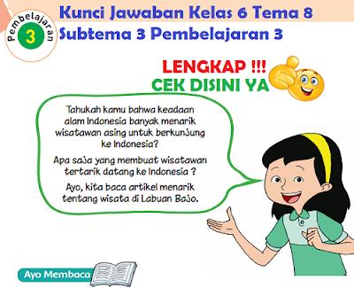 Kunci Jawaban Kelas 6 Tema 8 Subtema 3 Pembelajaran 3 www.simplenews.me