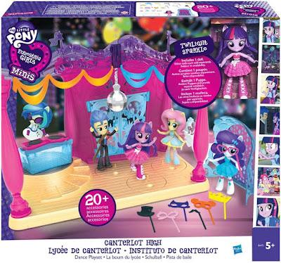 TOYS : JUGUETES - My Little Pony  Equestria Girls : Minis  Pista de Baile | La Discoteca : Instituto de Canterlot  Producto Oficial 2016 Hasbro B6475 | A partir de 5 años  Mi pequeño poni   Comprar en Amazon España & buy Amazon USA