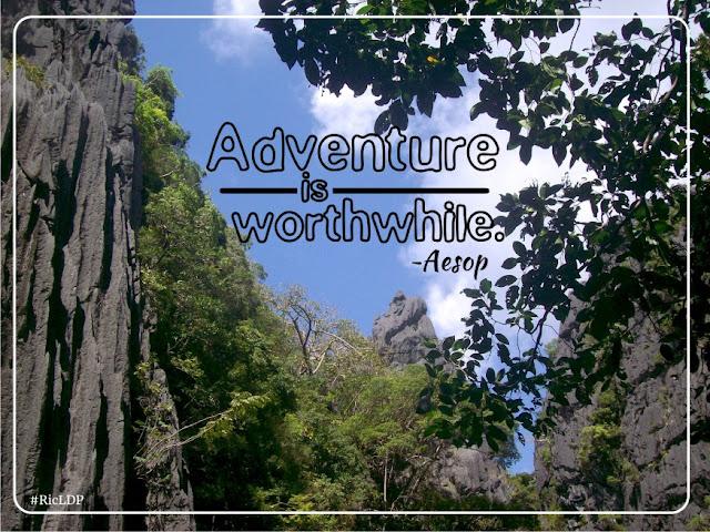 Adventure is worthwhile Palawan El Nido