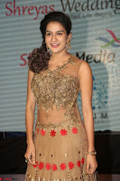 Jenny in brown transparent sleeveless anarkali dress at Shamanthakamani pre release function ~  Exclusive 029.JPG