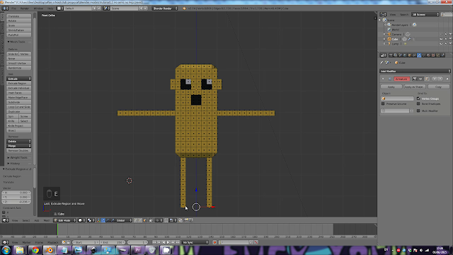 Adventure Time Jake in 3D