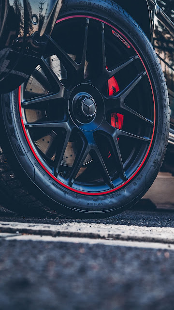 Mercedes-Benz HD upholstery wheel