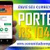 PORTEIRA COM REMUNERAÇÃO R$ 1.046,40 PARA EMPRESA DE SERVIÇOS