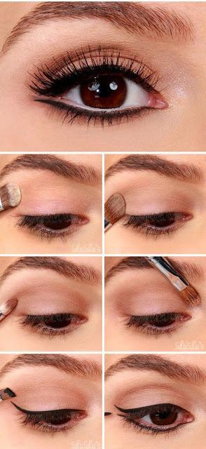 maquiagem olho tutorial