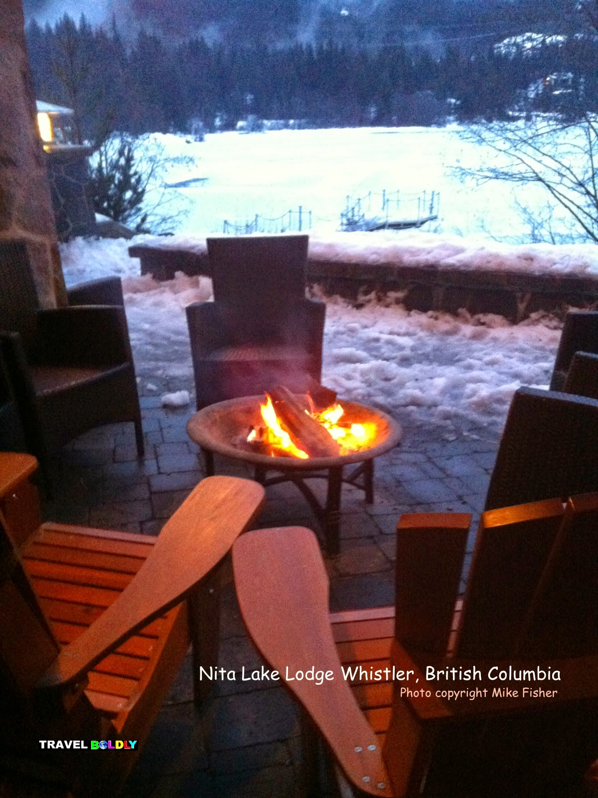 Lakeside at Nita Lake Lodge, Whistler, British Columbia - Photo Mike Fisher for Travel Boldly