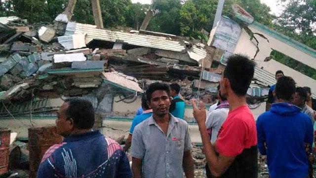 Info Jumlah Korban dan Kondisi Gempa Bumi 6,4 SR di Aceh [Update]