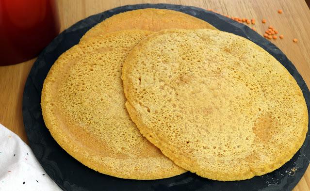 Pão caseiro fácil e rápido de lentilha vermelha Pensando ao contrário por Camila Victorino