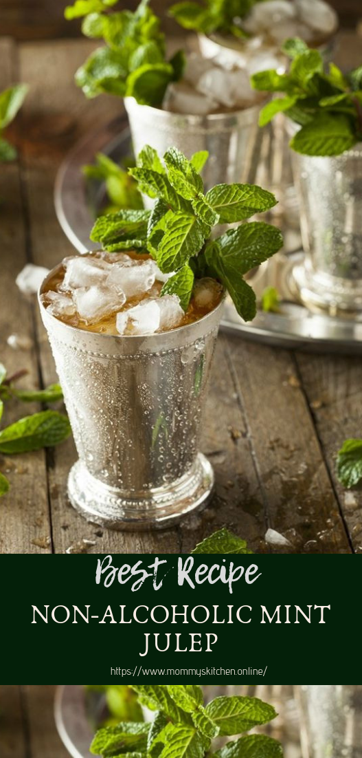 NON-ALCOHOLIC MINT JULEP #healthydrink #easyrecipe