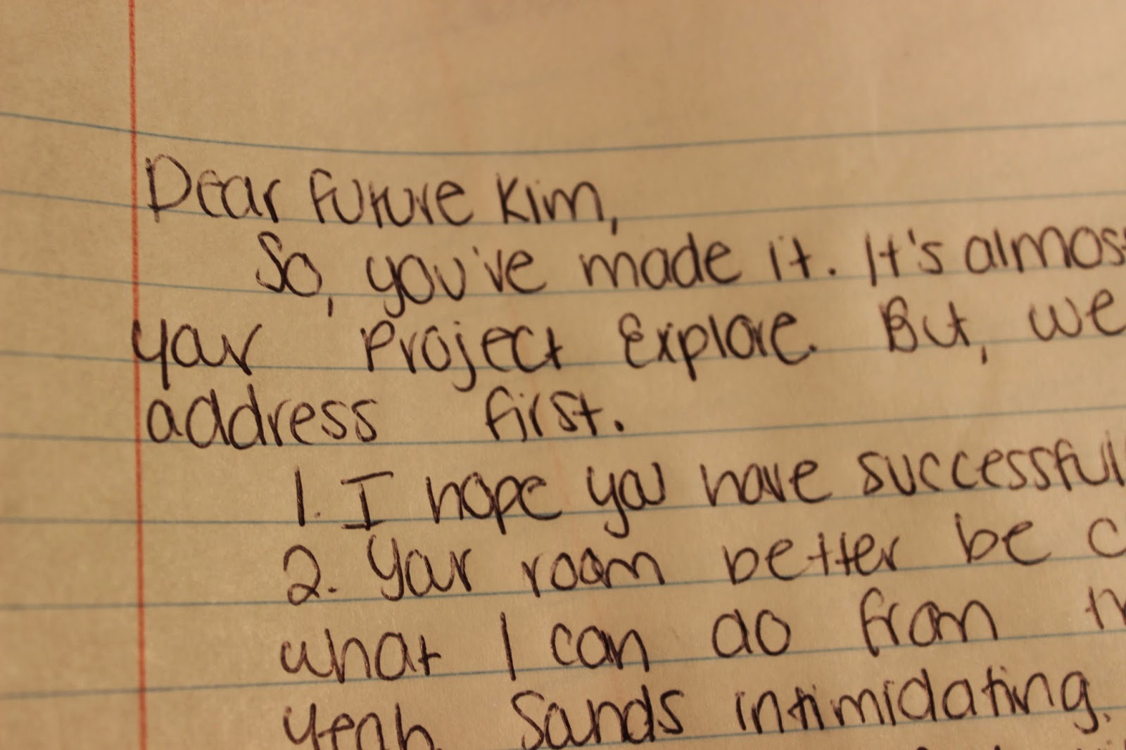 Project 52 Task 2 pleted Write A Letter to Your Future Self