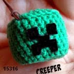 patron gratis creeper minecraft amigurumi, free amigurumi pattern creeper minecraft