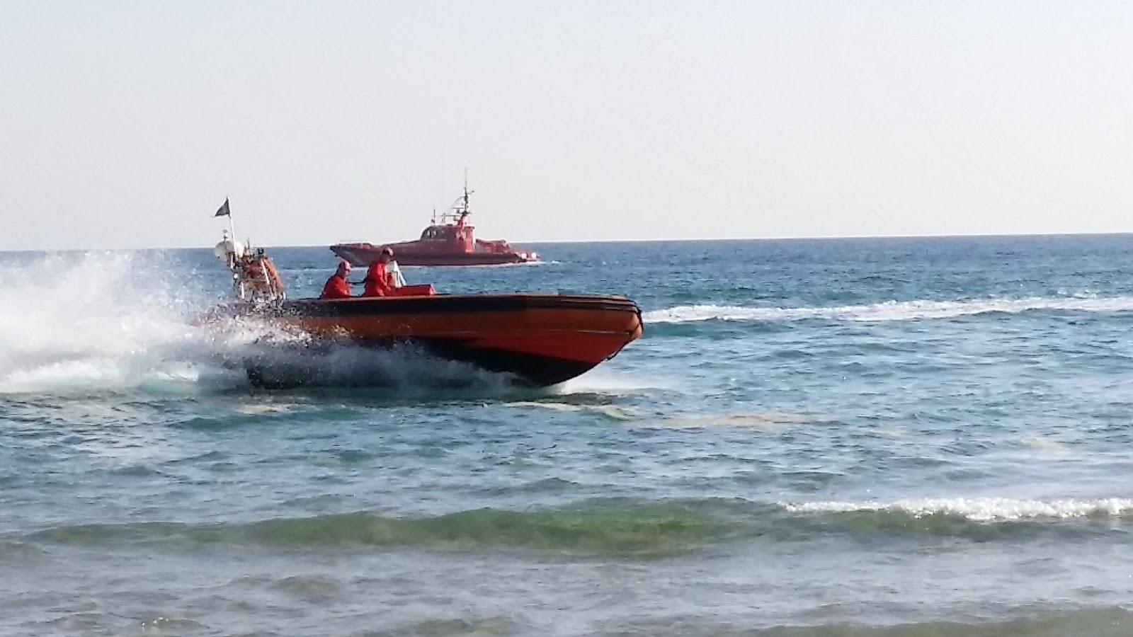 Simulacro de vertido de petróleo en el mar