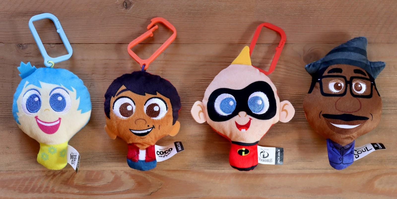 #7 Jack-Jack Disney Pixar Mcdonalds Happy Meal Plush Toy Incredibles key chain