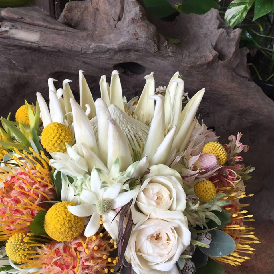 Urban flower australian native flower wedding bouquet australian native flower wedding bouquet izmirmasajfo