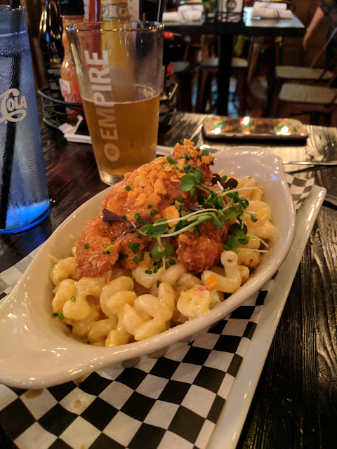 Macaroni and cheese at Local Kitchen and Beer Bar in Downtown Buffalo