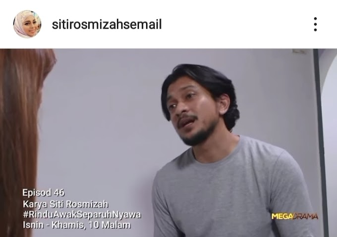 Nazril Balik Ke Rumah Sewa! Dalam Episod 46 Rindu Awak Separuh Nyawa