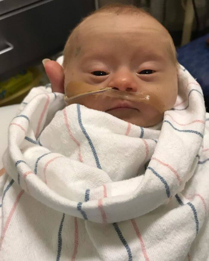 Mother Shares Powerfully Honest 'Review' Of Her Baby With Down Syndrome
