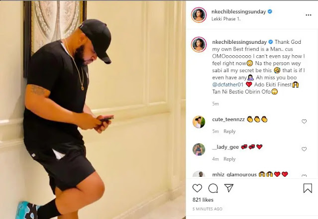 Thank God say i no get Female bestfriend- Nkechi Blessing reacts to the Fight between Iyabo Ojo and her Bestfriend Omo Brish