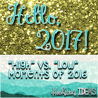 "Use the ""high"" and ""low"" strategy to reflect on the day and year.  Read more about it on Hookster's Ideas."