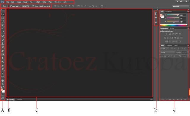 Mengenal Alat Tempur Photoshop