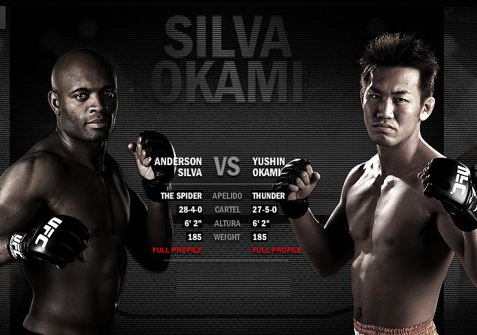 UFC 134 ao vivo Anderson Silva x Okami