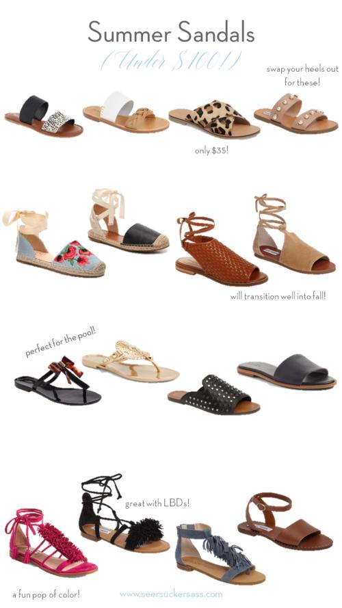 Summer's Cutest Sandals (Under $100)