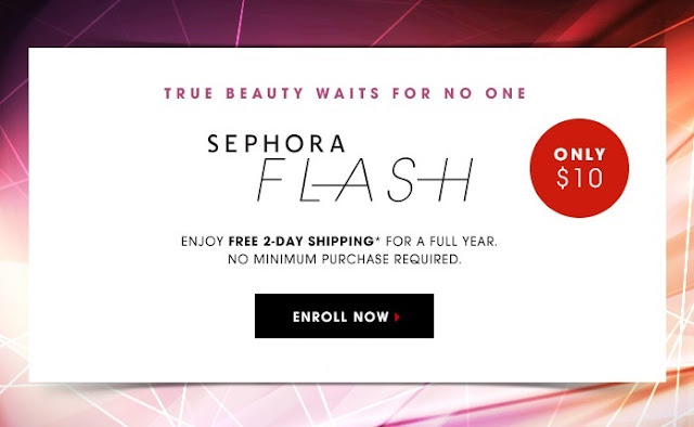 Sephora Flash Subscription Free Shipping Coupon Code 2016