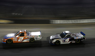 #NASCAR Camping World Truck Series Drivers Sheldon Creed and John H. Nemechek