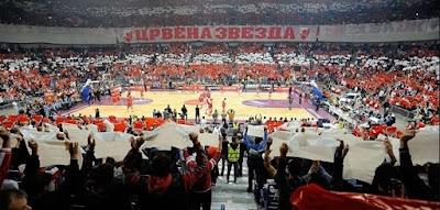 Crvena Zvezda fans - Euroleague