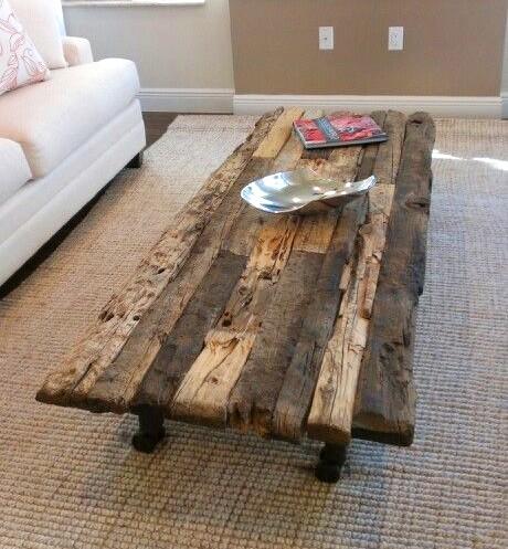 Ecomania blog 10 ideas de mesas recicladas for Mesas de tarimas recicladas