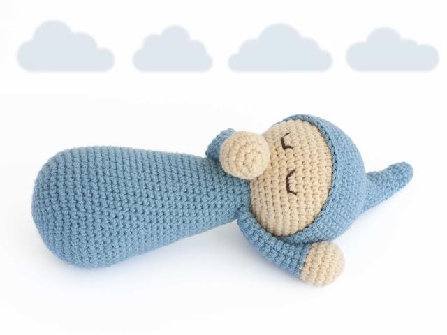 amigurumi-bebe-dormilon-sleepy-baby-patron-gratis-free-pattern-crochet