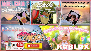 Roblox Royale High Gameplay! Part 8 - Easter EVENT - BarbiesDreamss AngelicMous Marliinas Epik Clothing and ROCK$TAR Homestore! Eggs Location and Rewards!