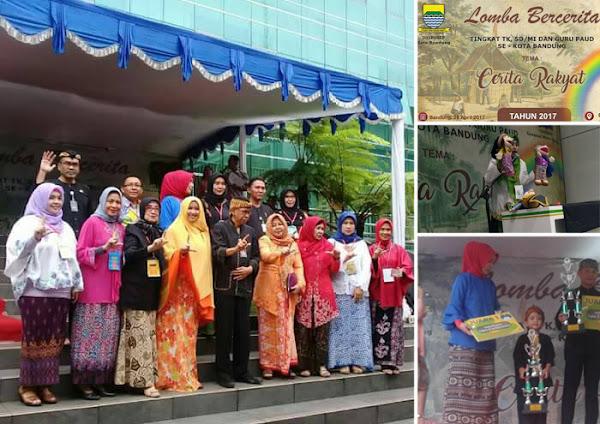 Lomba Bercerita Dinas Perpustakaan dan Arsip Kota Bandung Gelar Lomba Bercerita