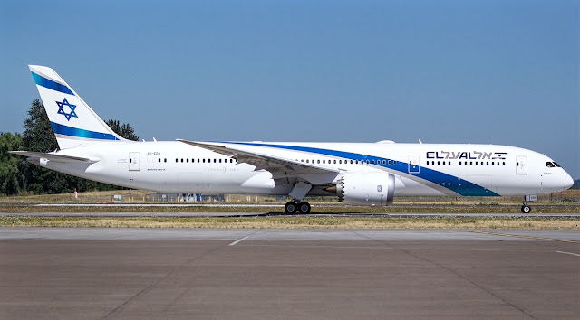 Boeing 787-9 El Al Airlines First Delivery 4X-EDA