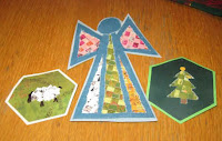 Woven paper ornaments