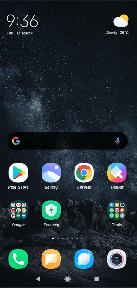 How To Enable App Drawer - MIUI 11 System Launcher - All Xiaomi Devices - Home Screen - Cursed Brains