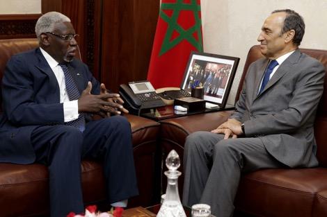 """المالكي يرحب باستقبال """"برلمان التشاد"""" في المغرب"""