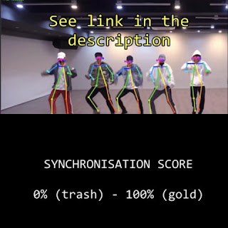 [PANN]Bir bilgisayar programı en senkronize dans eden erkek gruplarını hesapladı