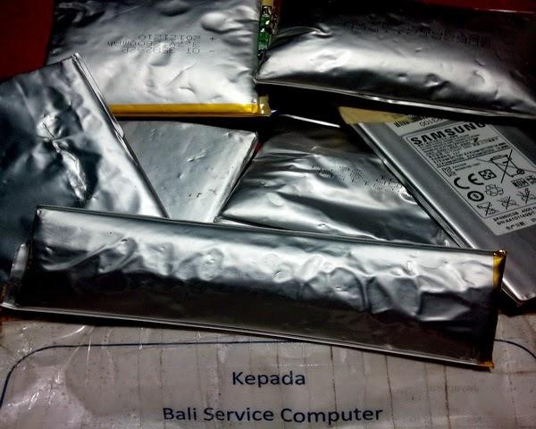 bali service baterai android rusak kembung