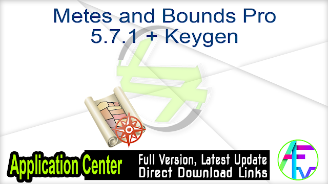 Metes and Bounds Pro 5.7.1 + Keygen