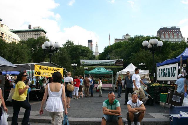 Greenmarket a Union sq-New York