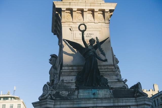 オベリスク「Monumento dos Restauradores」